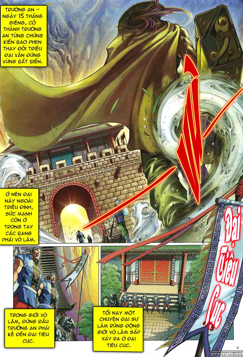 Anh hùng vô lệ chap 1 trang 5