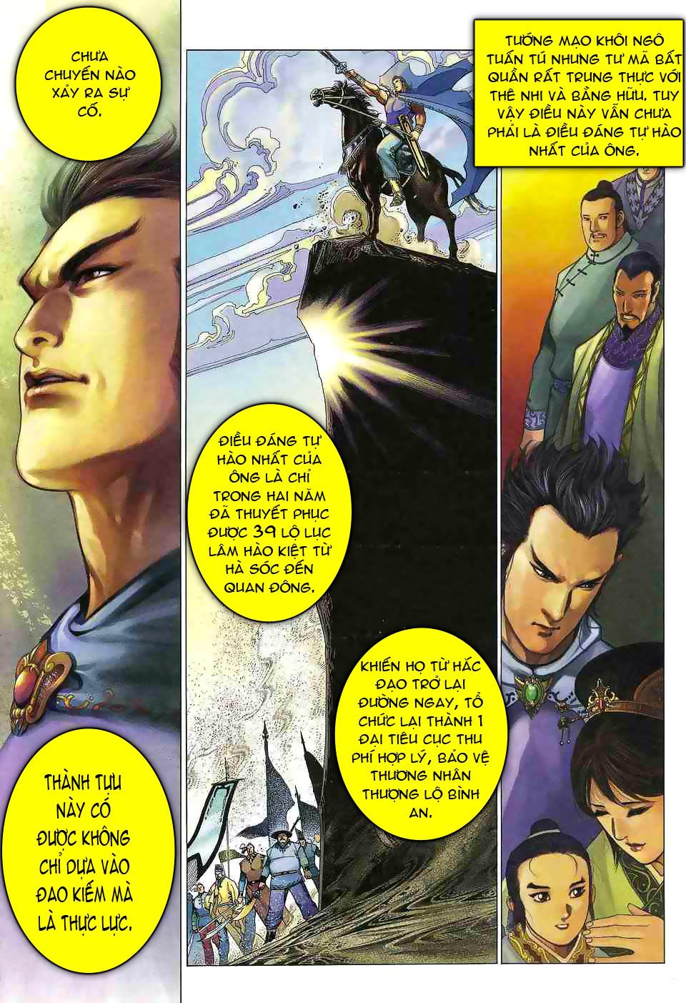 Anh hùng vô lệ chap 1 trang 9