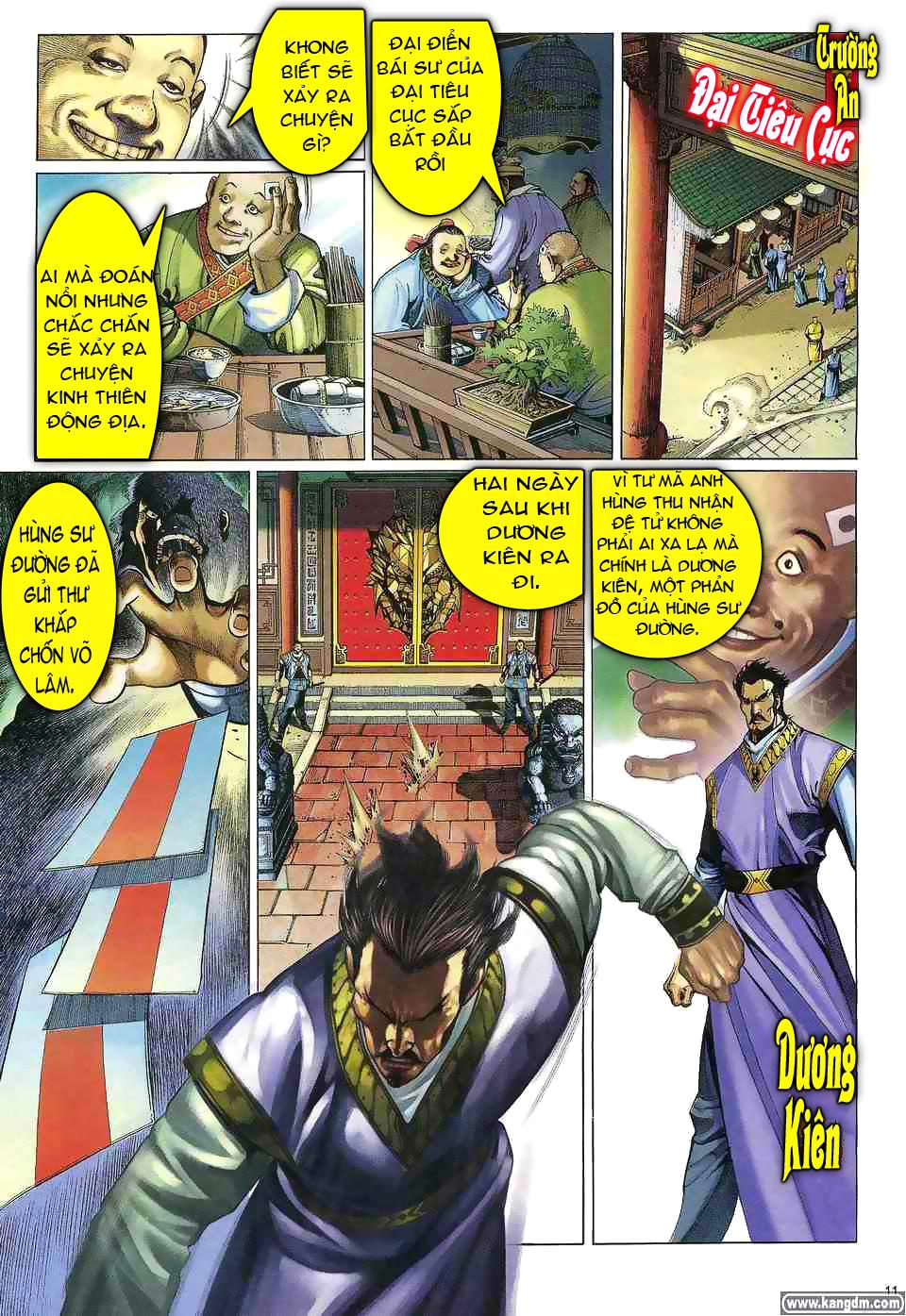 Anh hùng vô lệ chap 1 trang 10