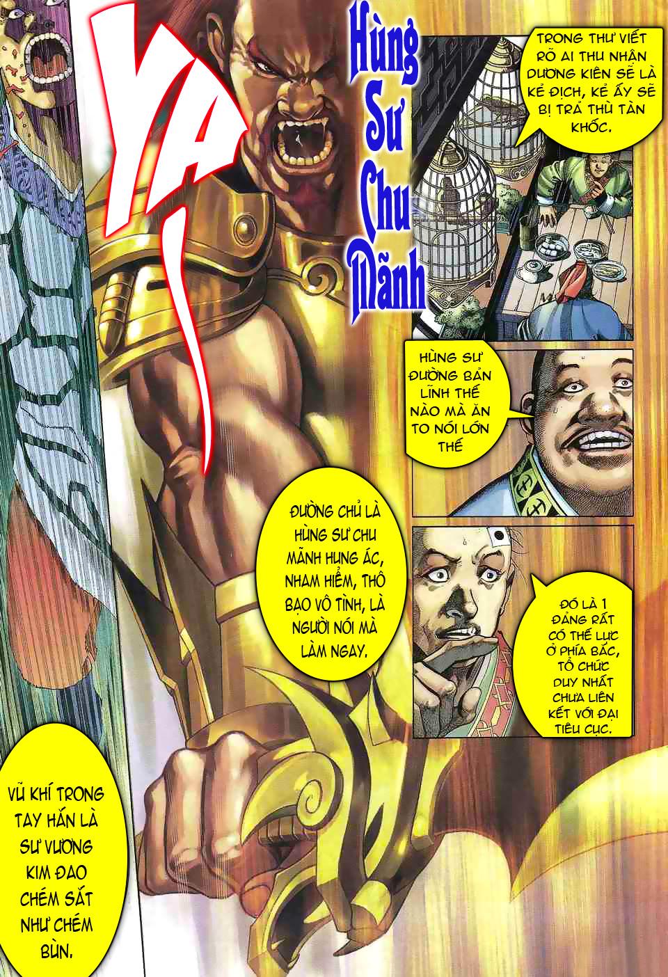 Anh hùng vô lệ chap 1 trang 11