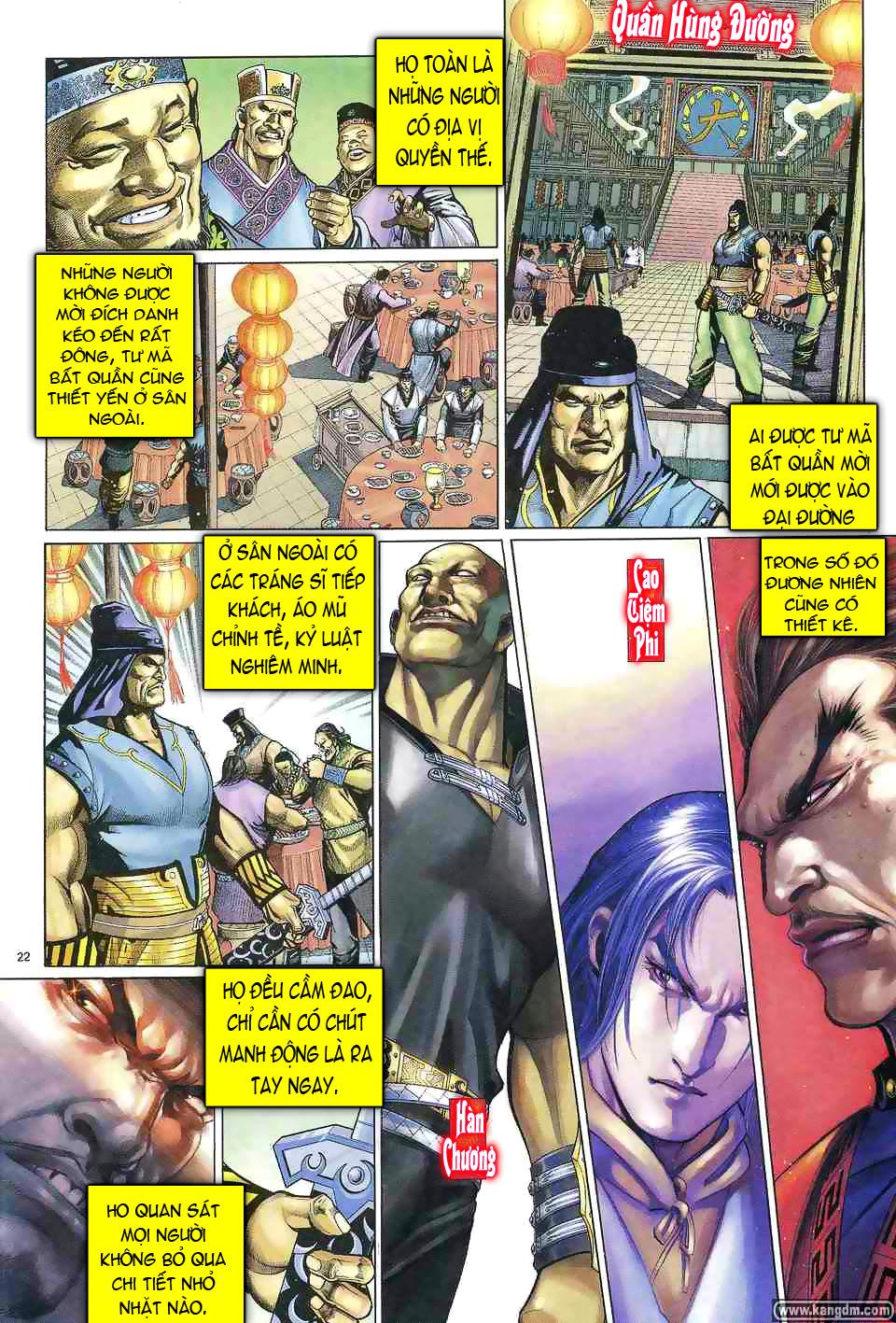 Anh hùng vô lệ chap 1 trang 21