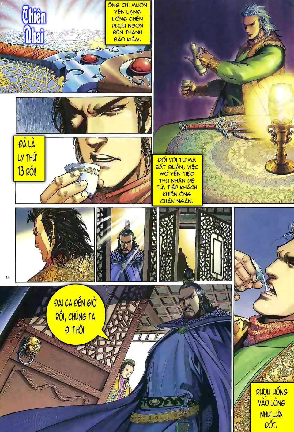 Anh hùng vô lệ chap 1 trang 23