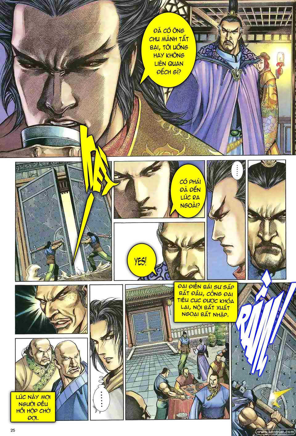 Anh hùng vô lệ chap 1 trang 24