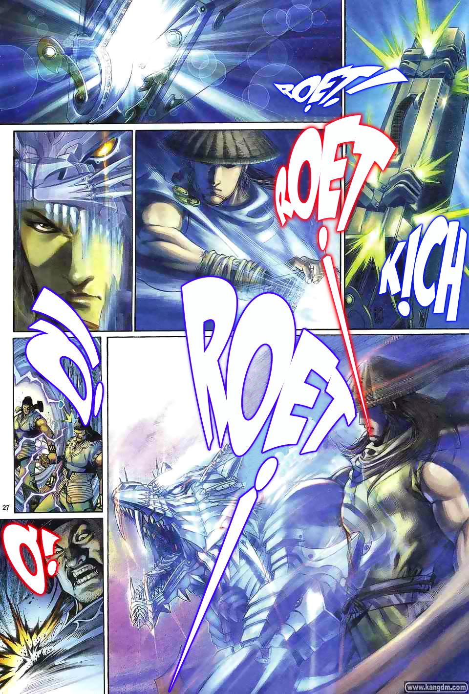 Anh hùng vô lệ chap 1 trang 26