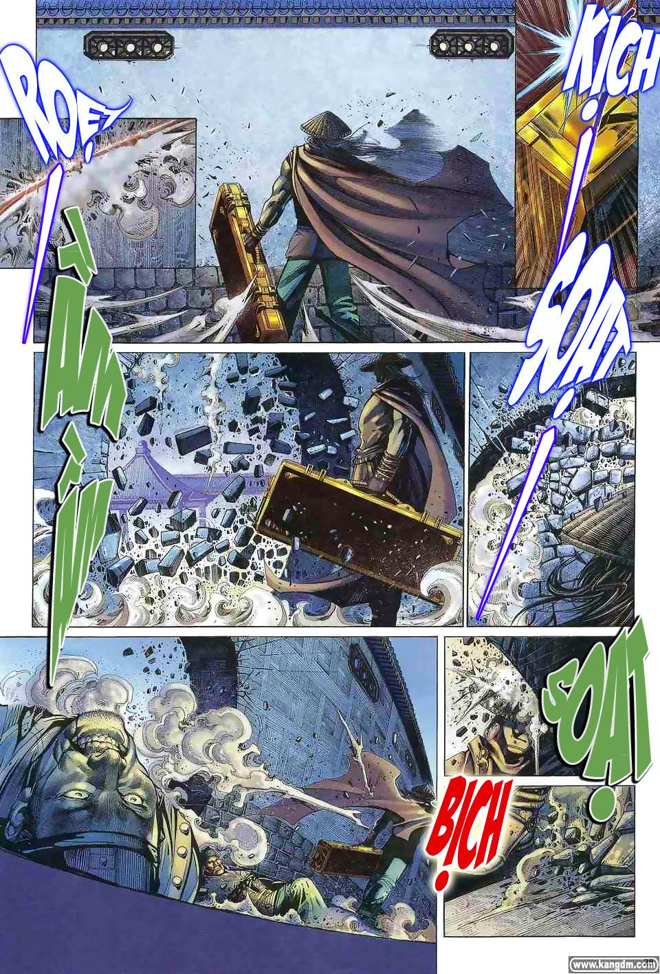 Anh hùng vô lệ chap 1 trang 27
