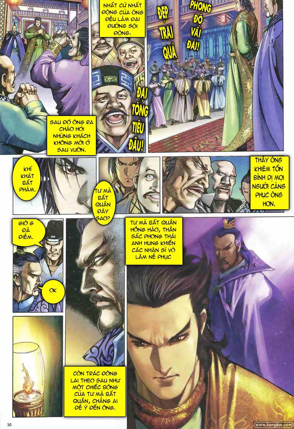 Anh hùng vô lệ chap 1 trang 29