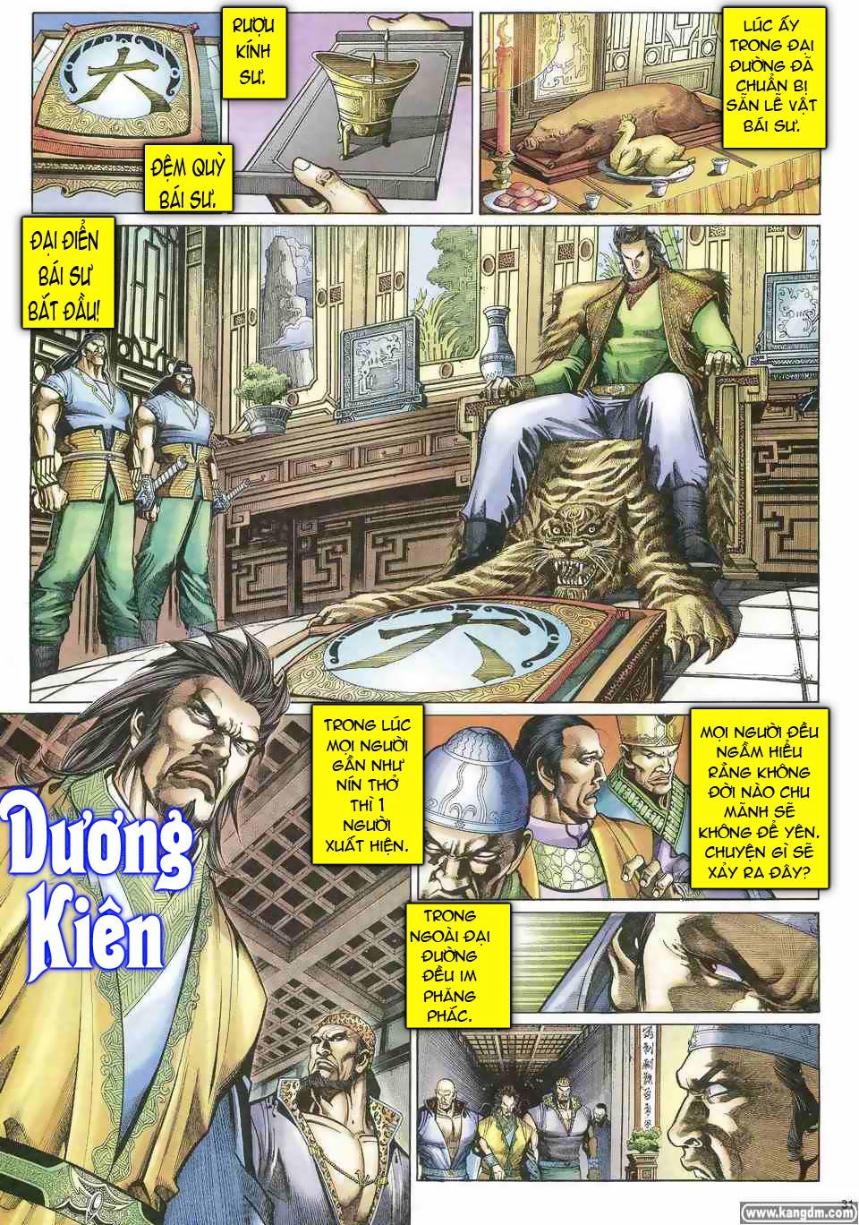 Anh hùng vô lệ chap 1 trang 30
