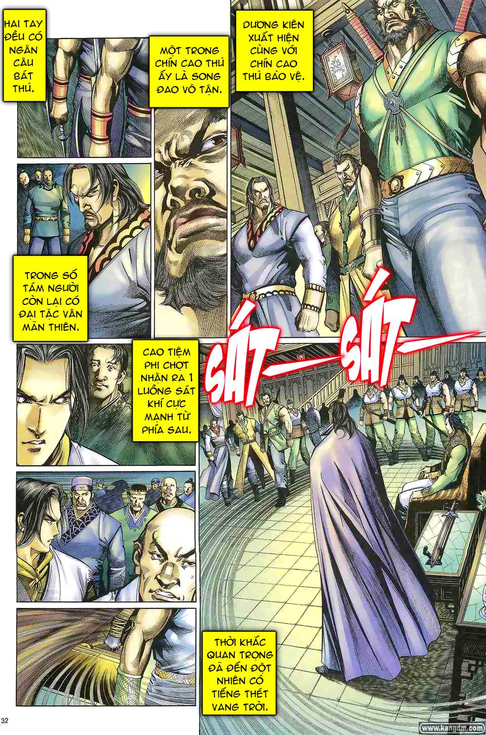 Anh hùng vô lệ chap 1 trang 31