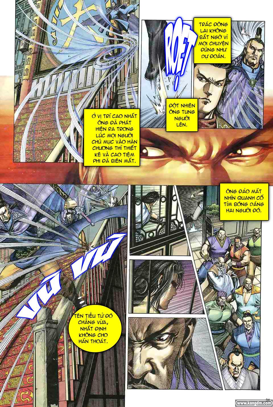 Anh hùng vô lệ chap 1 trang 33