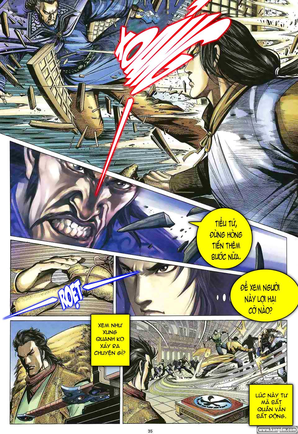 Anh hùng vô lệ chap 1 trang 34