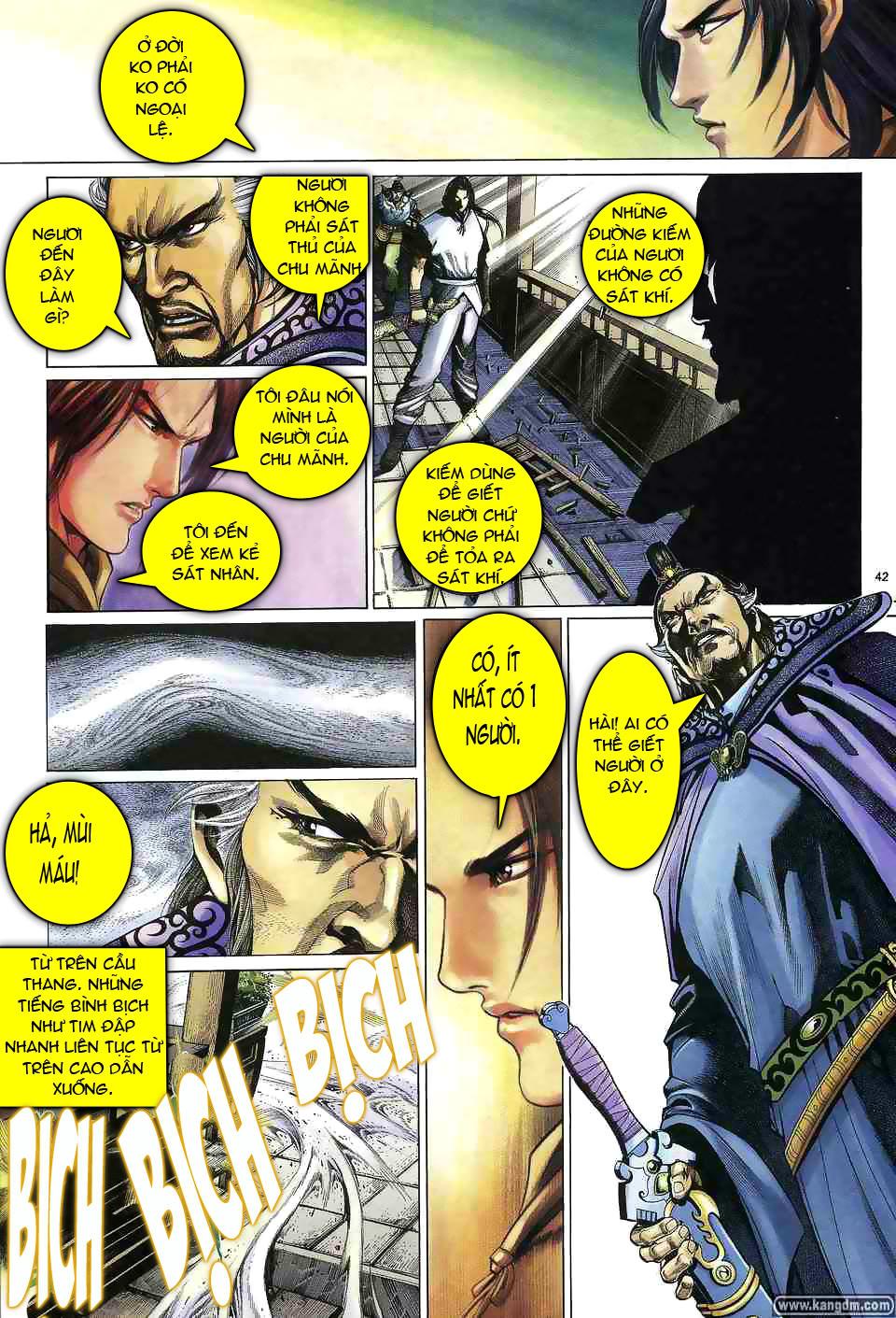 Anh hùng vô lệ chap 1 trang 41