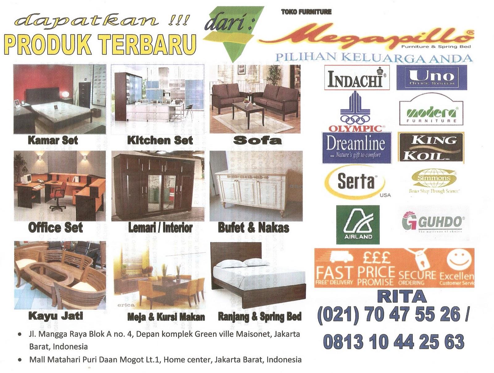 Megapillo Furniture Spring Bed Online Shop Brochure 2