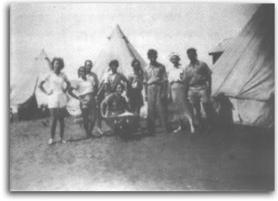 המתיישבים במחנה