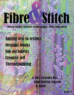 Fibre&Stitch issue 2 cover