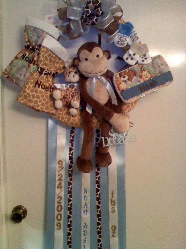 Bowlicious Hospital Door Hangers For Baby