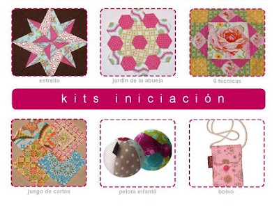 Kits Iniciación al patchwork Jan et Jul