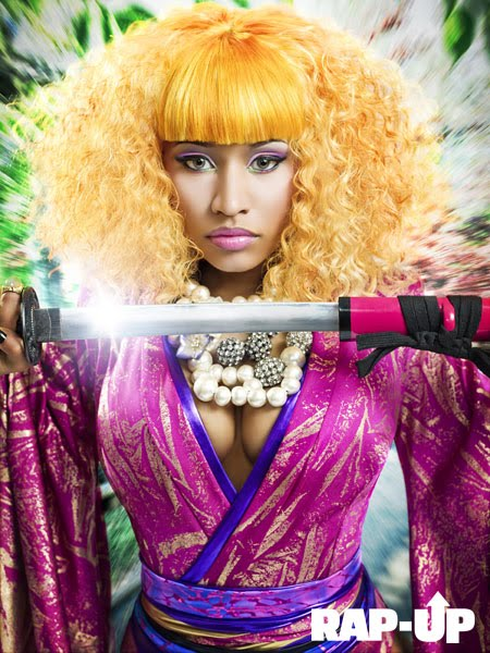 hot fashion week 2011 nicki minaj's