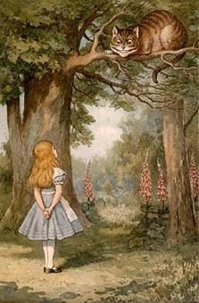Sourire Chat Alice Au Pays Des Merveilles : sourire, alice, merveilles, Tom-tom:, Alice, Lewis, Carroll, Critique