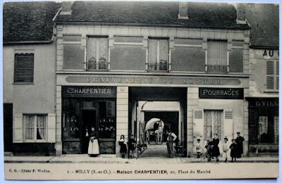 De 1908 1921 La GRAINETERIE DU CENTRE Tait Gre Par Lucien CHARPENTIER
