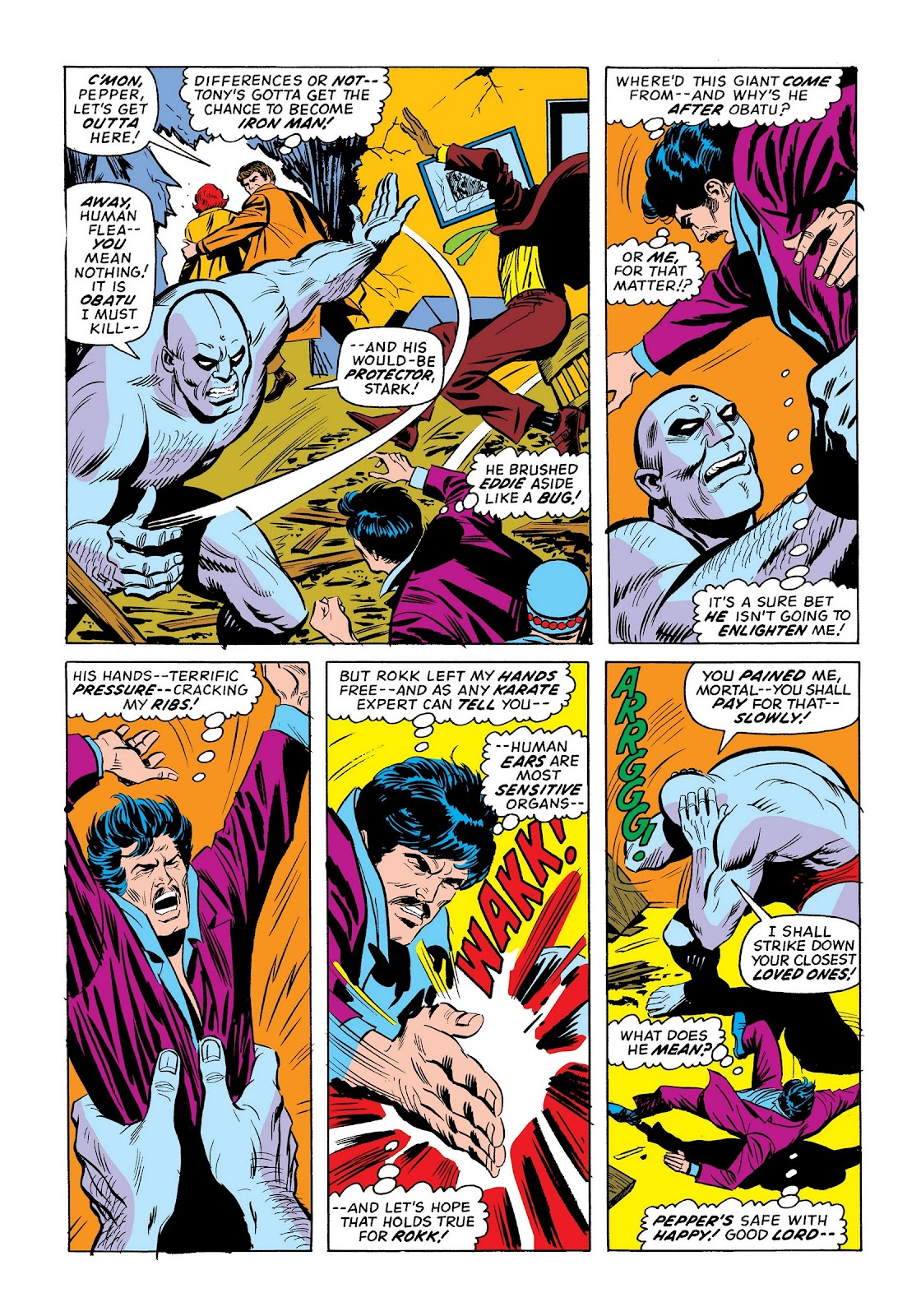 Read online Marvel Masterworks: The Invincible Iron Man comic -  Issue # TPB 9 (Part 3) - 25