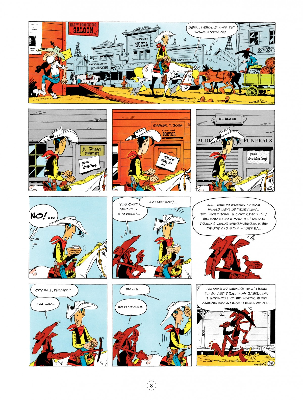 A Lucky Luke Adventure 5 Page 9