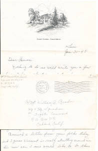 WWII Letters: Camp Cooke California WWII Letter January 1943