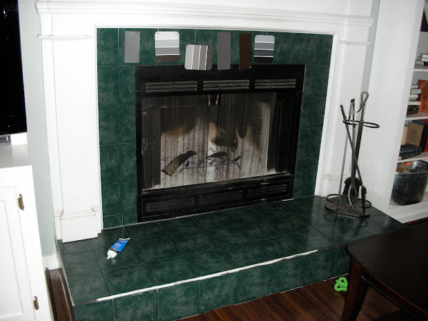 how to paint ceramic tile fireplace vtwctr