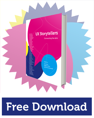 "Free eBook ""UX Storytellers"""