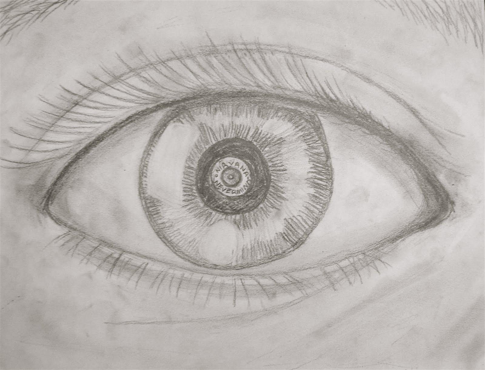 Картинка рисунок глаза