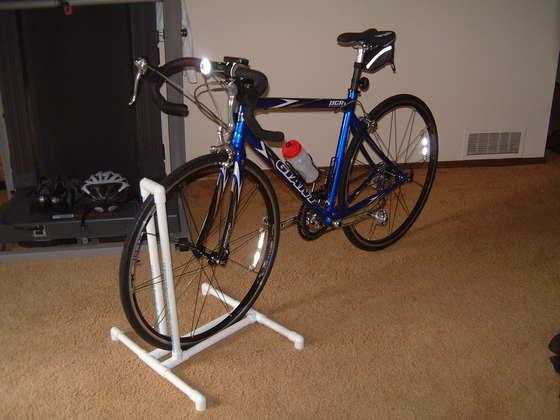 DIY PVC Bike Stand / Rack - Half TRI-ing