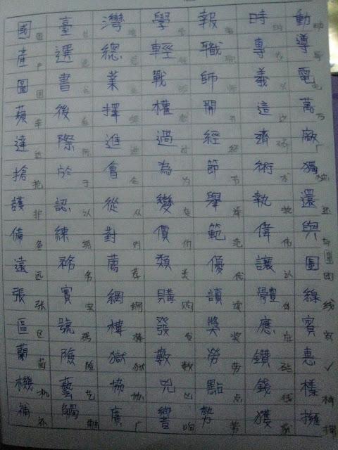 在我內心的話語: 簡體字vs繁體字 漢語拼音vs注音符號