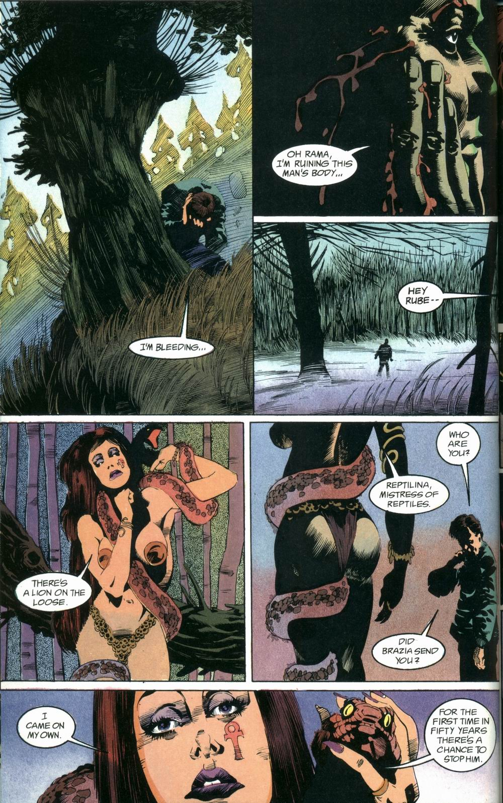 Read online Deadman: Love After Death comic -  Issue #2 - 8
