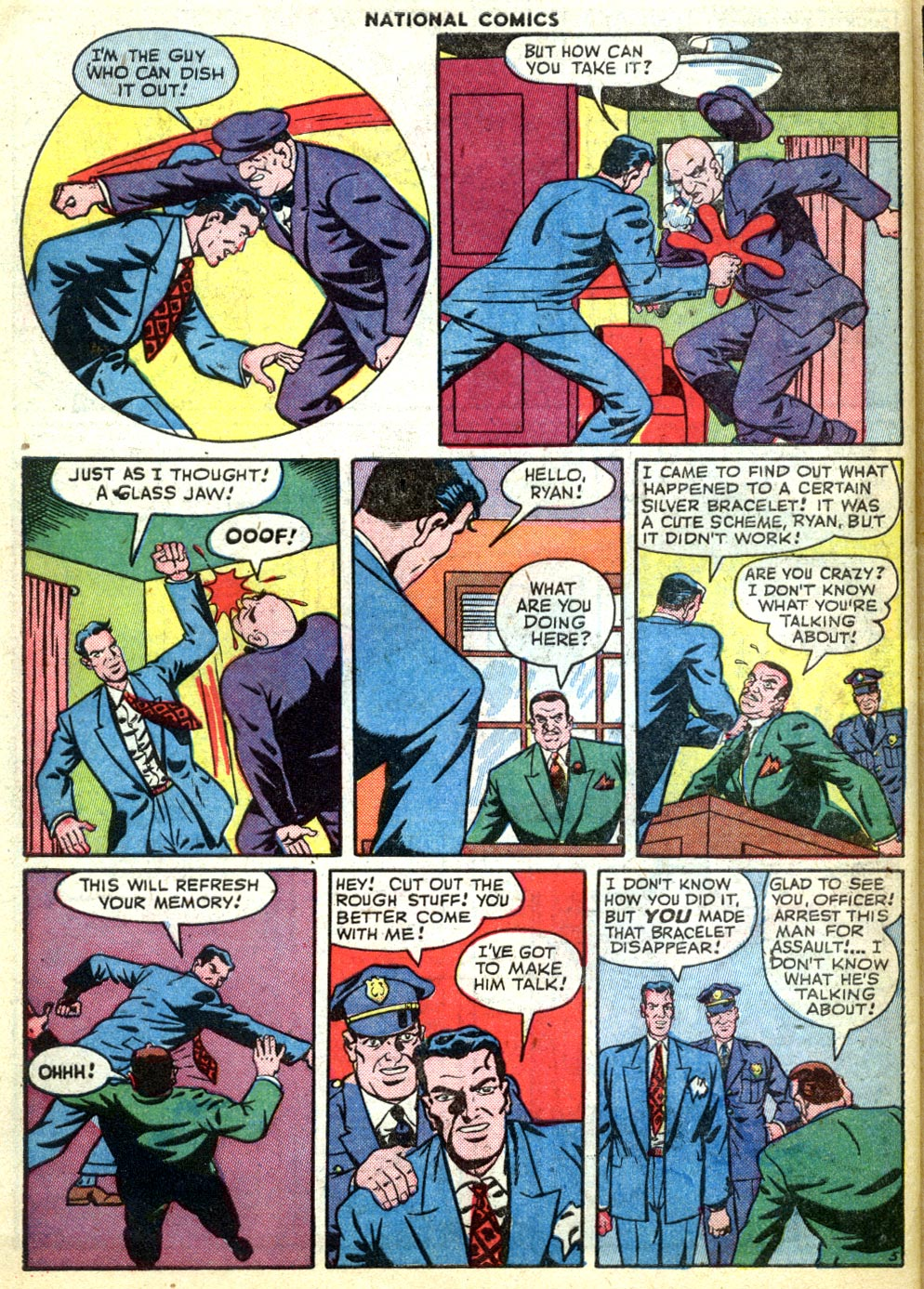 National Comics (1940) issue 47 - Page 50