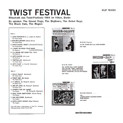 VA - Twist Festival im Hotel Hilton Berlin 1964