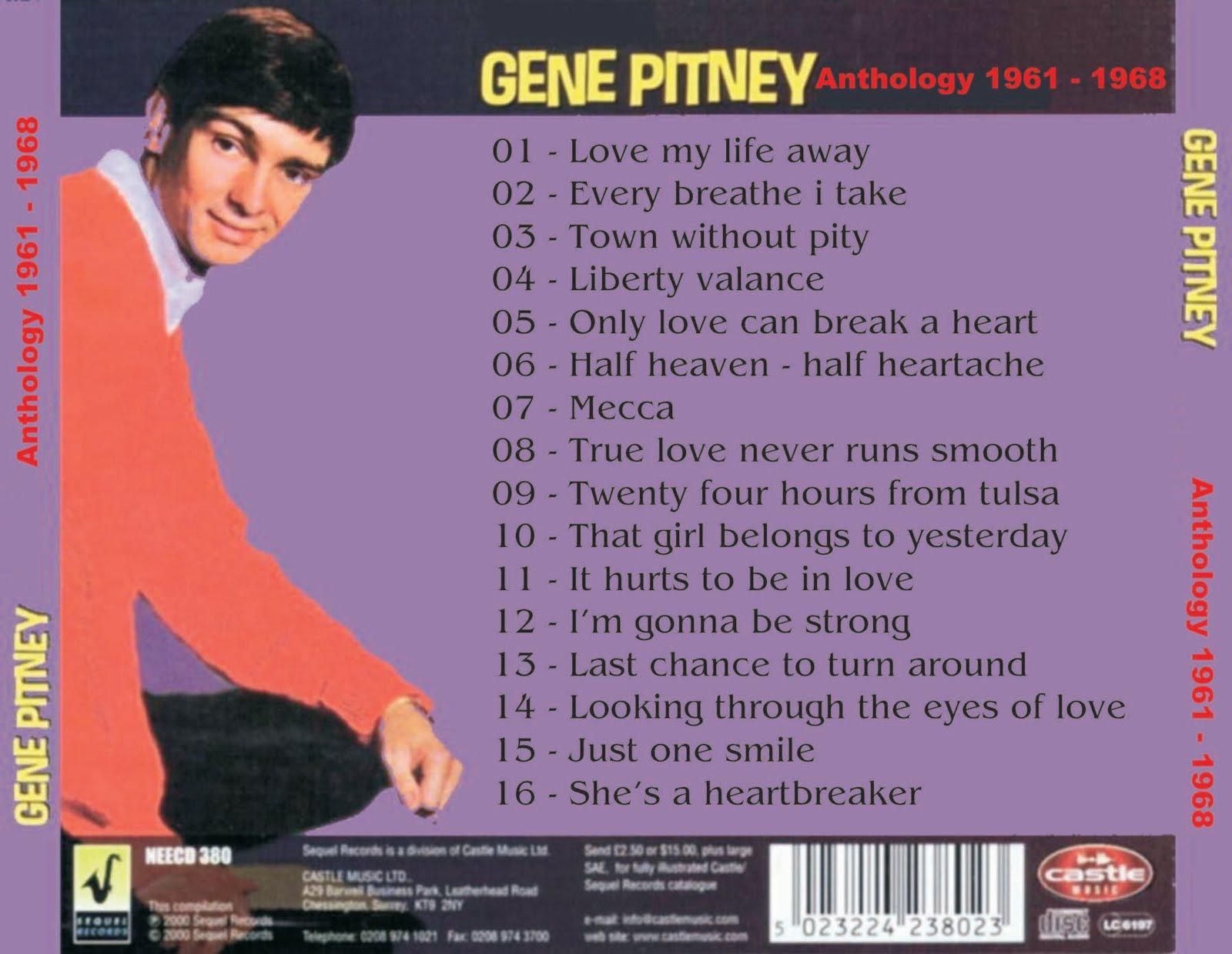 Music Archive Gene Pitney
