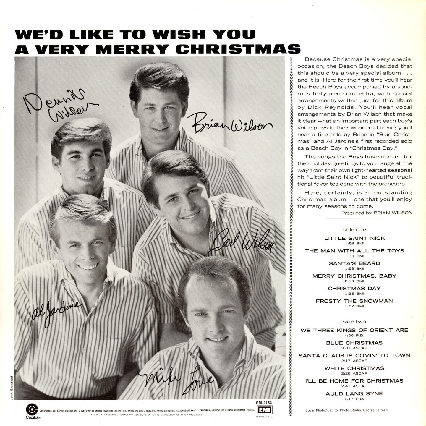 Christmas Day On The Beach Boys Song