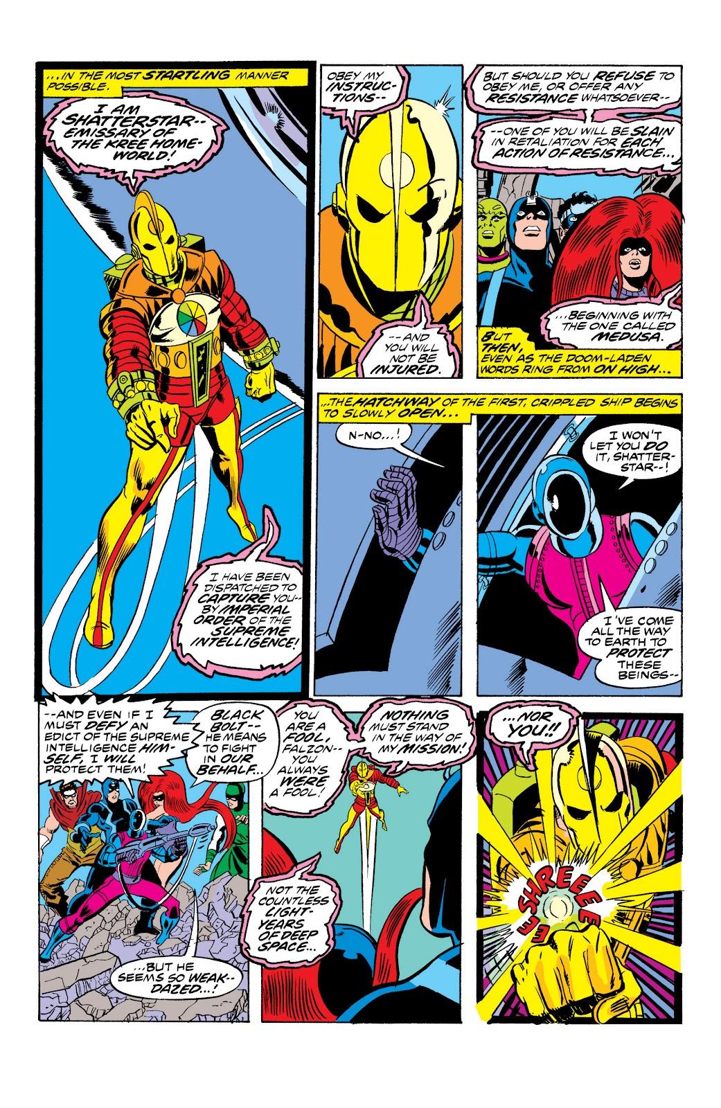 Read online Marvel Masterworks: The Inhumans comic -  Issue # TPB 2 (Part 1) - 59