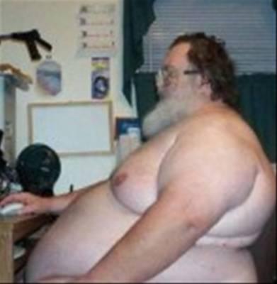 Fat Guy In Underwear 51