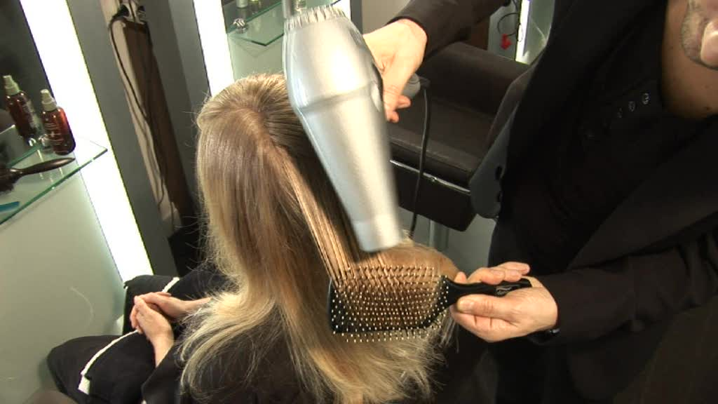 Blow Dry Hair Straight 85