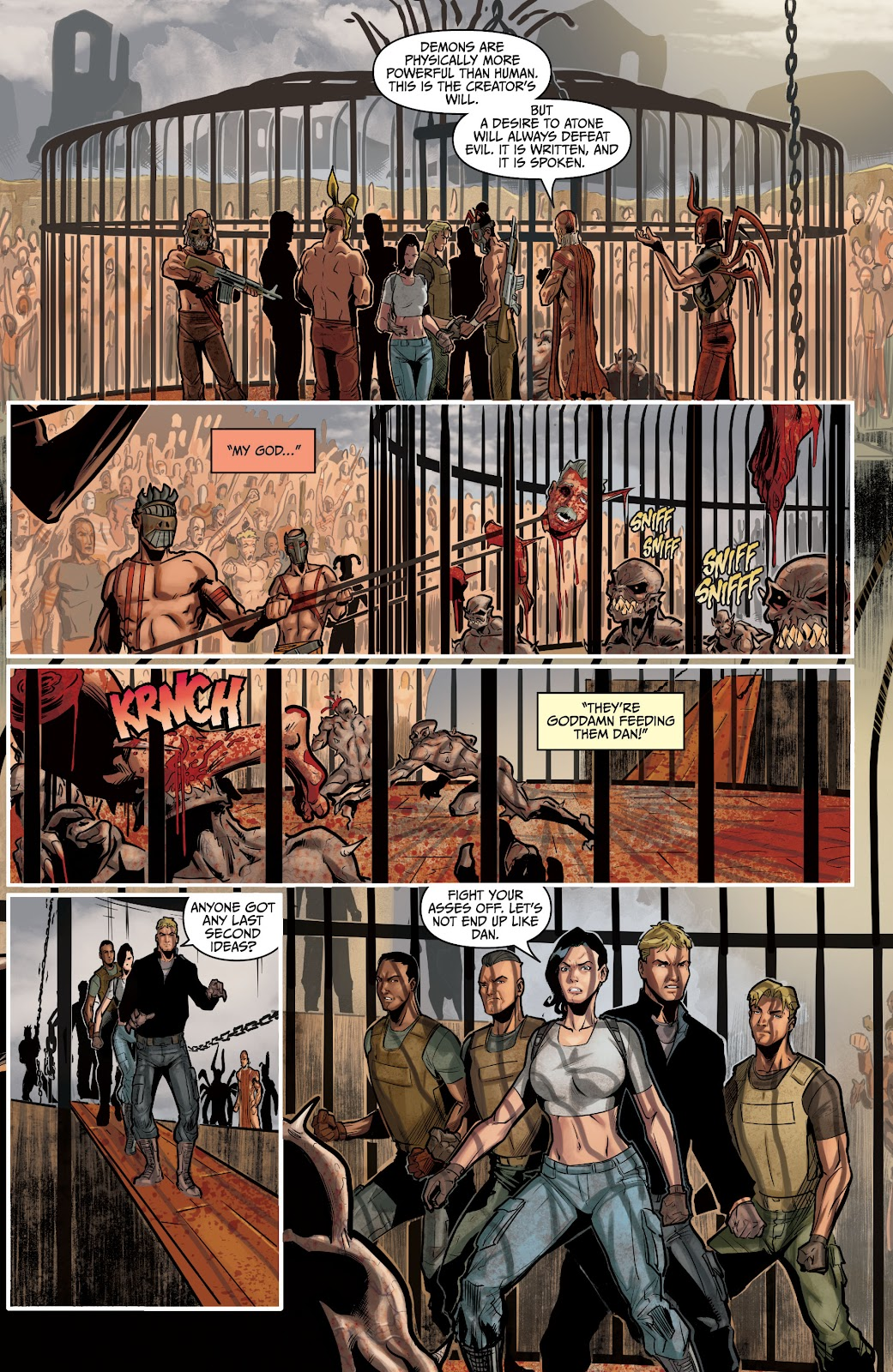 The Courier: Liberty & Death issue 2 - Page 24