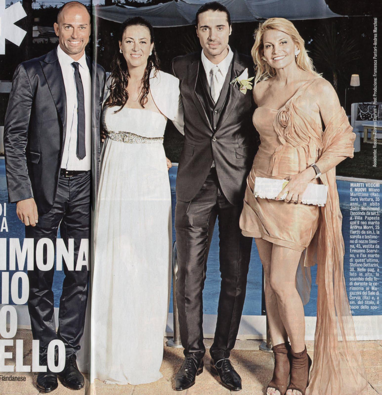 5b9b89cab618 ... Maggio a Cervia il matrimonio di Sara Ventura con Andrea  Morri