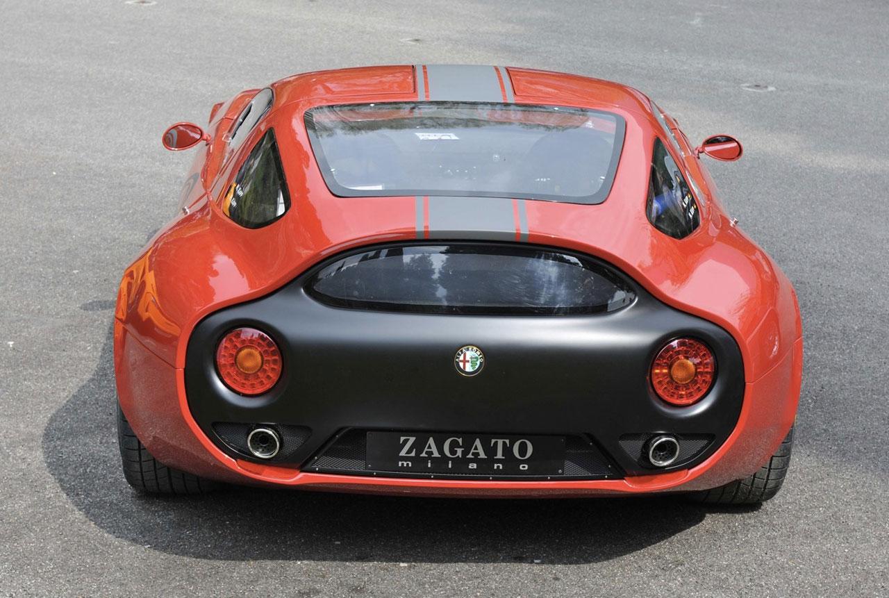 2010 alfa romeo zagato tz3 corsa concept dark cars wallpapers. Black Bedroom Furniture Sets. Home Design Ideas
