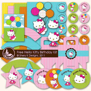 Hello Kitty Free Printable Party Kit Oh My Fiesta In English