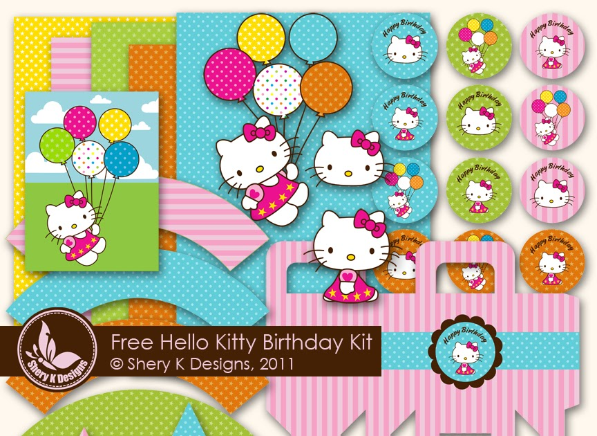 Hello Kitty Free Printable Party Kit. | Oh My Fiesta! in ... - photo #31