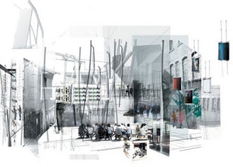 Architectural Program Diagram And 2 Wiring For Air Horn Relay Multi-sensory Experience Of Architecture: Collage City