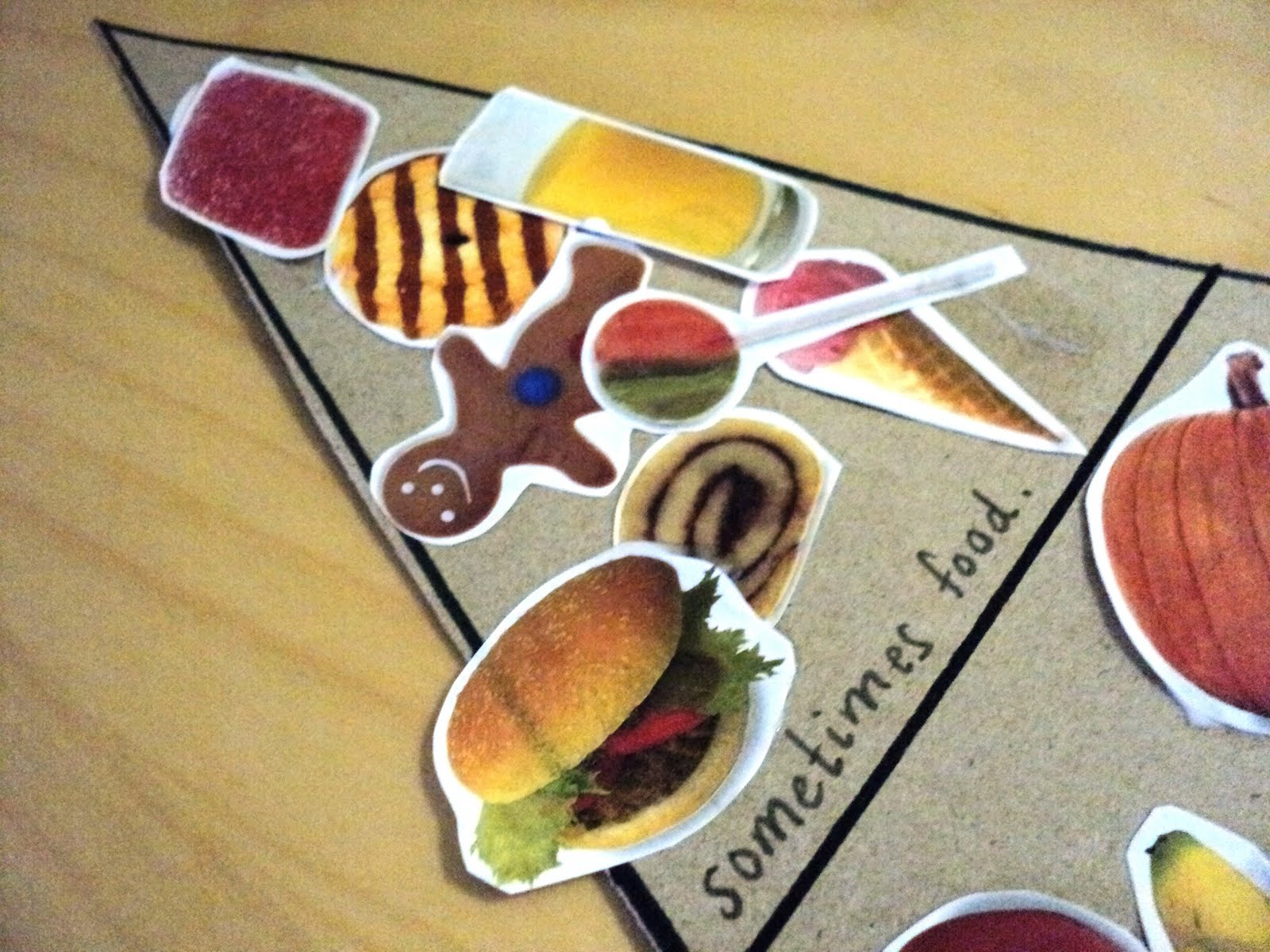 A Little Learning For Two H Is For Healthy Food Pyramid