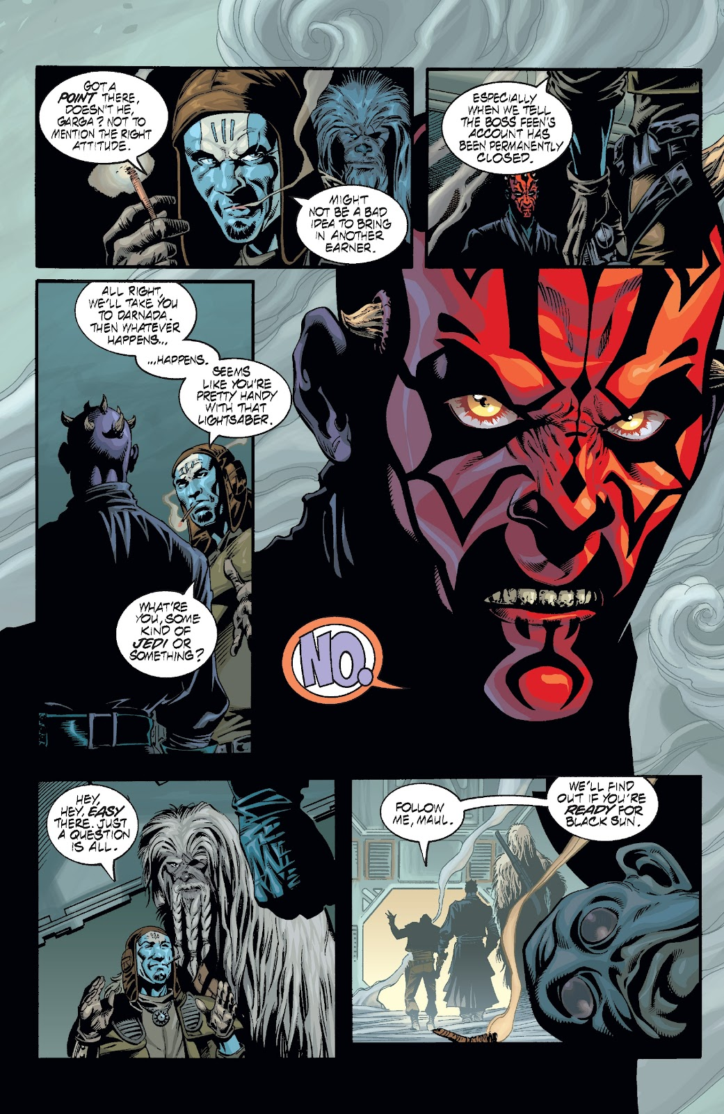 Read online Star Wars Legends: Rise of the Sith - Epic Collection comic -  Issue # TPB 2 (Part 2) - 71