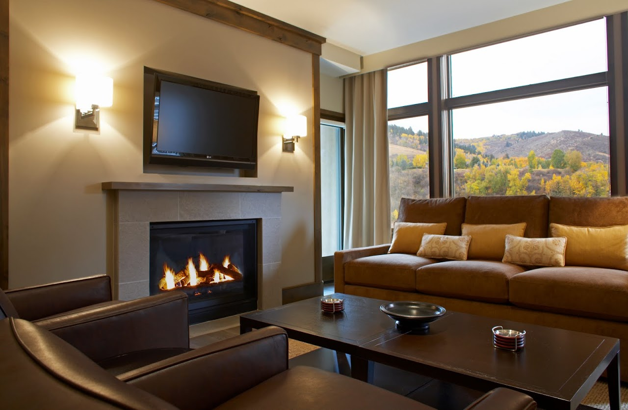 Beaver Creek The Westin Riverfront living room