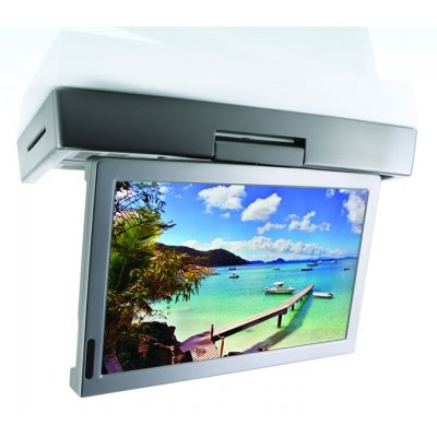 Under cabinet TV DVD Player