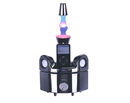 iPod Color changing docking station with speakers and subwoofer